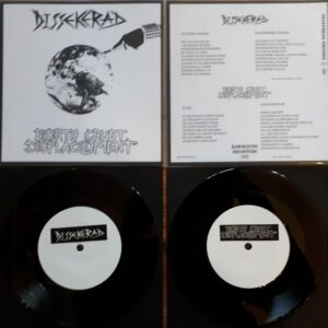 "Dissekerad/ Earth Crust Displacement ""split"" ""7 Testpress"