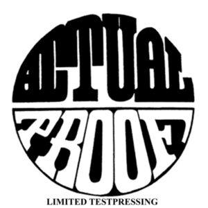 "ACTUAL PROOF ""demo '93/'94"" ""12EP Testpress"