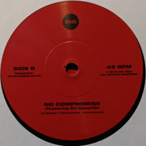 """Alikazam/Franky Roar  """"This Is Where We Dwell / No Compromise"""" 7inch"""