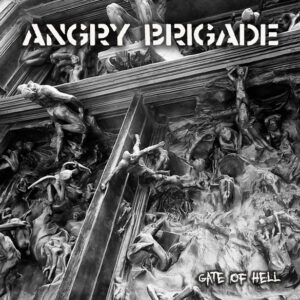 "Angry Brigade / Zeměžluč ""Gate Of Hell / Zeměžluč"" 7inch"