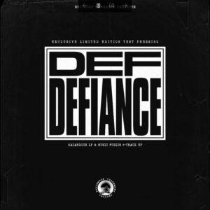 "Def Defiance ""hazardous"" 2xLP + ""music fusion"" ""12 Testpress"