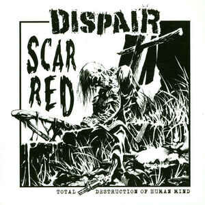 "DISPAIR ‎""Scarred E.P."" 7inch"