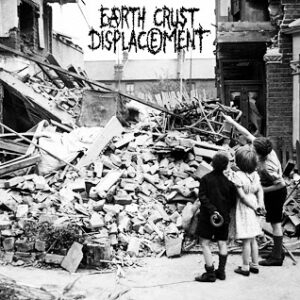 """HEAVY NUKES / EARTH CRUST DISPLACEMENT """"SPLIT"""" 7inch limited yellow wax"""
