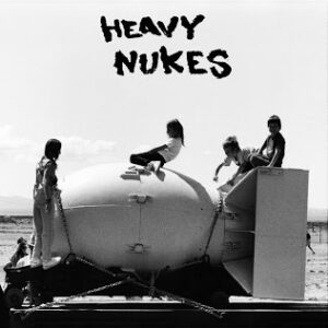 """HEAVY NUKES / EARTH CRUST DISPLACEMENT """"SPLIT"""" 7inch limited white wax"""