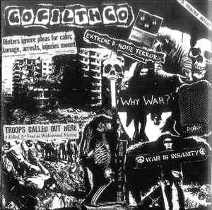 """GO FILTH GO """"5 TRACK EP"""" 7inch"""