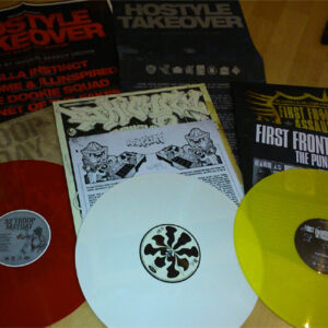 "32 Troop""12 / DJ Highfly""12 / First Frontal Assault""12 ‎– Hostyle Takeover Limited Bundle coloured wax"