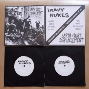 "Heavy Nukes/Earth Crust Displacement ""split"" 7inch Testpress"