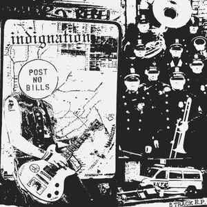 """Indignation """"5 Track E.P."""" 7inch"""