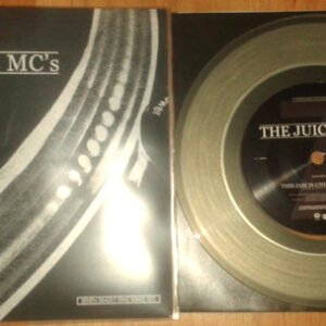 "JUICE MC's ""secret intelligence/this jam is under attack"" 7inch clear wax"