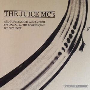 "JUICE MC's ""spydaman/all guns barred"" 7inch Testpress"