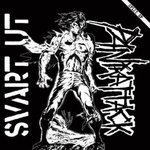 "SVART UT/ PANIKATTACK ""Split EP"" 7inch black wax"