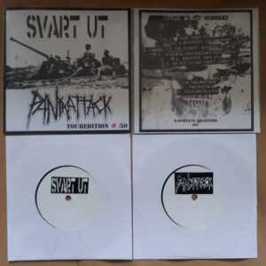 "SVART UT/ PANIKATTACK ""Split EP"" 7inch Touredition"