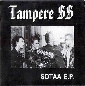 "Tampere SS ‎""Sotaa E.P."" 7inch red wax"