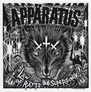 """Appäratus / Svart Ut """"Law Of Ratts…. Supersonik ? / Risken Att Köpa En Splitt Vinylskiva"""" 12inch black wax"""