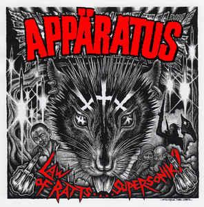 """Appäratus / Svart Ut """"Law Of Ratts…. Supersonik ? / Risken Att Köpa En Splitt Vinylskiva"""" 12inch Touredition"""