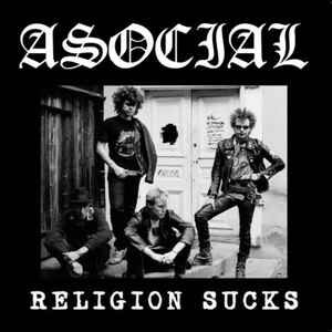 "Asocial ""Religion Sucks"" 12inch"