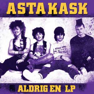 """Asta Kask """"Aldrig En LP"""" 12inch yellow wax"""