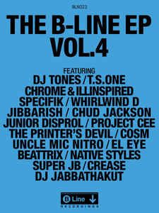 "Various ""The B-Line EP Vol.4"" 12 EP"