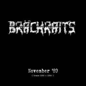"""Brächraits """"November '89 (Demos 1990 & 1992)"""" 12inch"""