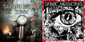 """Cause Of Divorce / Satanic Malfunctions """"s/t"""" 12inch"""