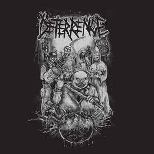 "Deterrence / Yattaï ‎""One Sided Split LP"" 12inch"