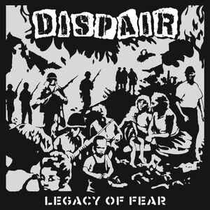 "Dispair ‎""Legacy Of Fear"" 12inch"
