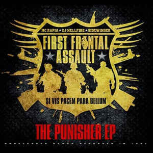 """First Frontal Assault """"The Punisher EP"""" 12 EP"""
