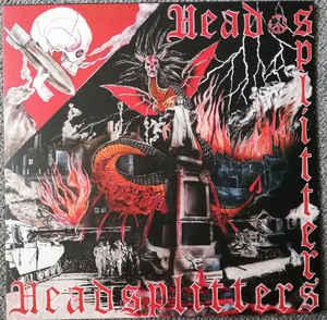"HEADSPLITTERS ""same title"" LP red wax"