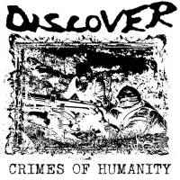 """Discover """"Crimes Of Humanity"""" 12inch 2nd press red wax"""