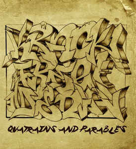 "Krack Free Media ""Quatrains And Parables"" 12 EP red wax"