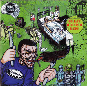 "Mind Bomb ‎""Great British Beef"" 2xLP"