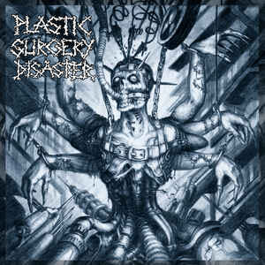"""PLASTIC SURGERY DISASTER """"s/t"""" 12inch black wax"""