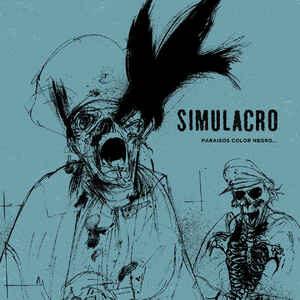 """Simulacro """"Paraísos Color Negro…"""" 12inch"""