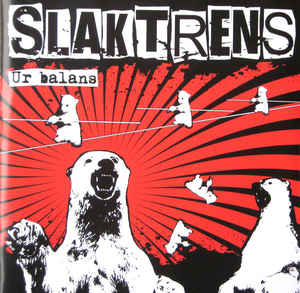 "Slaktrens ""Ur Balans"" 7inch red wax"