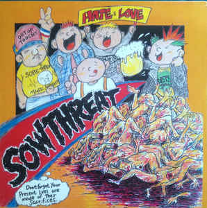 """Sow Threat """"Hate And Love"""" 12inch"""