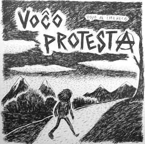 """Voĉo Protesta """"Vojo Al Libereco"""" 12inch green wax"""