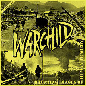 "Warchild ""Haunting Images of Human Tragedy"" 12inch purple wax"