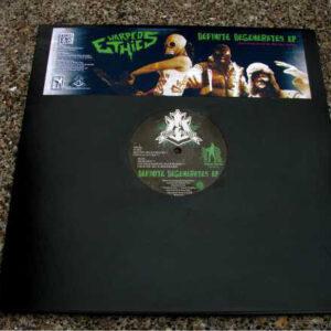 "Warped Ethics ""Definite Degenerates EP"" 12 EP green wax"