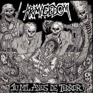 """Armagedom """"10 Mil Anos De Terror"""" 12inch"""