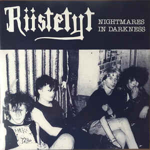 "Riistetyt ‎""Nightmares In Darkness"" 12inch"