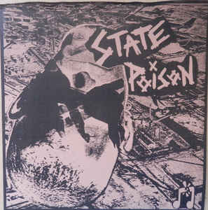 """State Poison """"s/t"""" 7inch"""