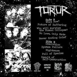 "Tortür ""Never Ending Grief"" 12inch black vinyl"