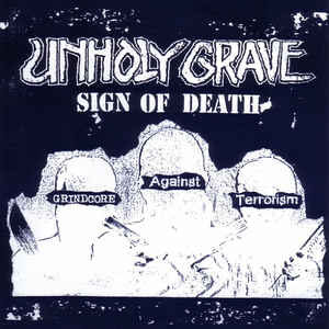 "Unholy Grave / Iron Butter ""Sign Of Death / Whipped Butter"" 7inch"