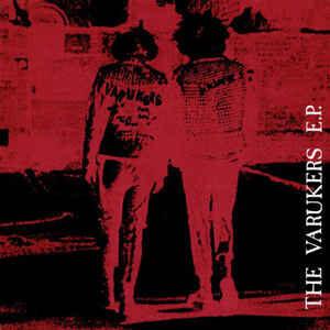 """The Varukers """"The Varukers E.P."""" 7inch"""