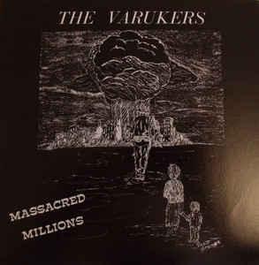 "The Varukers ""Massacred Millions"" 7inch"