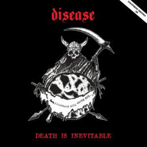 "Disease ""death is inevitable"" 12inch TESTPRESS (Burning Anger 003)"