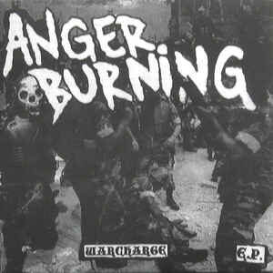 """Anger Burning """"Warcharge E.P."""" 7inch"""