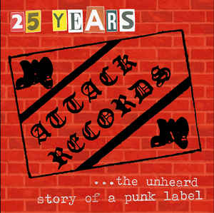 "Various ‎""25 Years Attack Records"" 12inch"