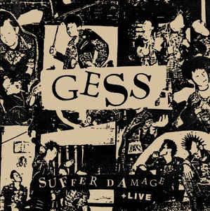 "Gess ""Suffer Damage + Live"" 12inch"