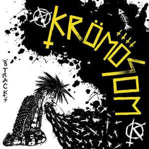 """Krömosom """"8 Tracks"""" 12inch white vinyl"""